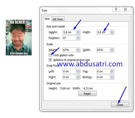 cara edit foto ukuran 3x4 di photoshop blog aktif lagi cara membuat ukuran foto 3x4 4x6 di