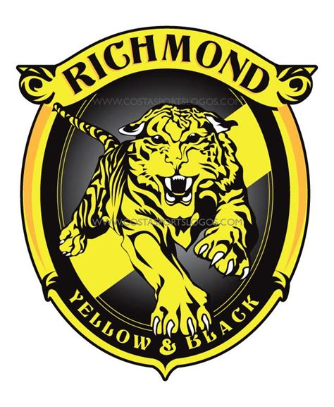 design logo new richmond wi workshop design a new richmond logo bigfooty afl forum