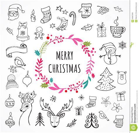 doodle merry merry doodle symbols