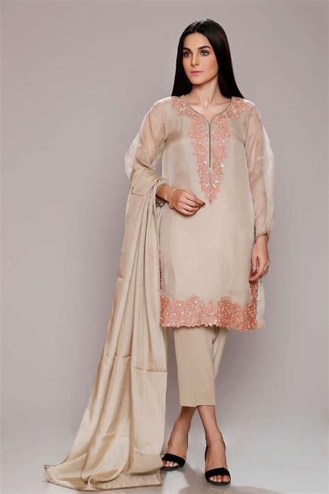 Latest Party Wear Dresses Embroidered Suits 2018 19