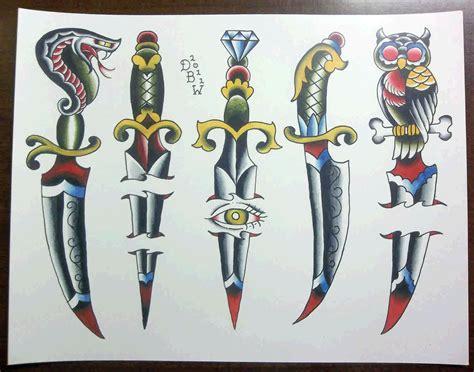 dagger tattoos designs 8 dagger designs ideas and flash