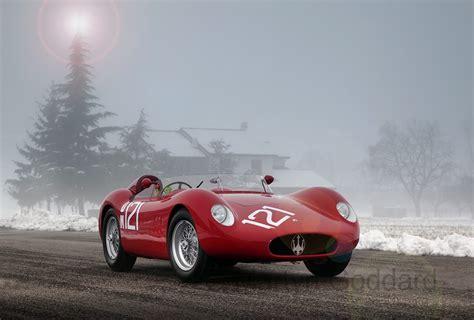 Maserati 300s At Christmas 2013 Martyn Goddard Images