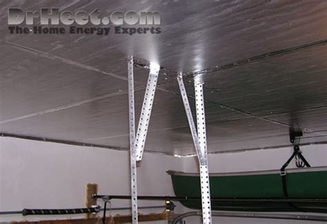 insulation for garage ceiling garage ceiling dr heet