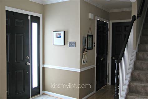 Black Interior Door by Painting Interior Doors Black List