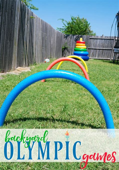 activities for children host your own backyard