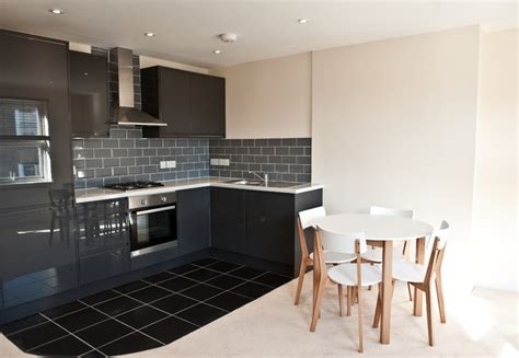 modern kitchen design in loft extension london by belsize battersea sw11 full renovation of 2 apartments with