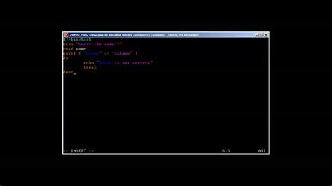 youtube loop section bash scripting until loop part vii youtube