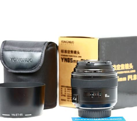 Yongnuo 85mm yongnuo yn 85mm f 1 8 for canon mayanh24h