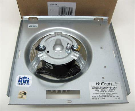 broan bathroom fan motor s 97017706 broan nutone motor blower wheel for model
