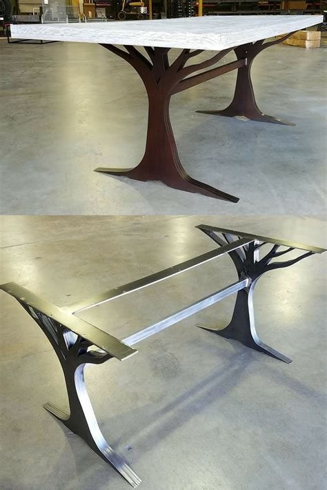 custom made table legs what an custom table leg base made from metal