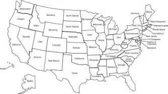usa map no color us color map with state names clip at clker