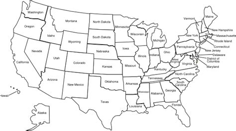 U S States Map Coloring Sheet Coloring Pages Us Map Coloring Page