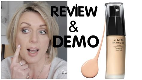 Shiseido Synchro Skin Foundation shiseido synchro skin foundation neutral 3 review and