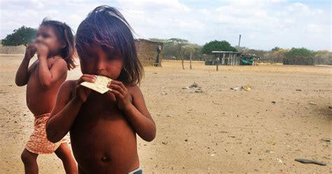 imagenes de niños que mueren de hambre en la ardiente guajira los ni 241 os mueren de hambre y sed