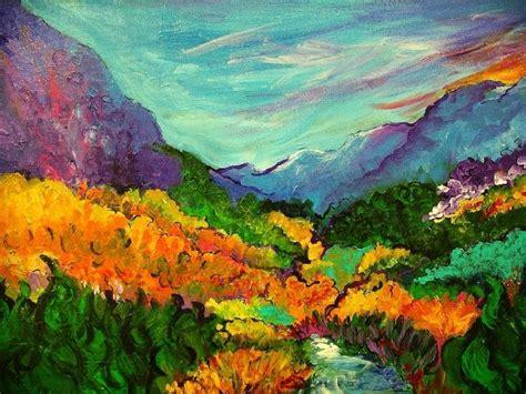 Pictures: Famous Acrylic Landscape Paintings, - Drawings ... Famous Acrylic Painting