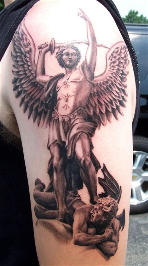 st michaels tattoo st michael by caryl cunningham tattoonow