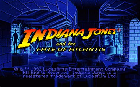 download indiana jones and the fate of atlantis | dos