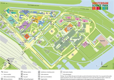 Amsterdam Business School Mba by Map Amsterdam Science Park