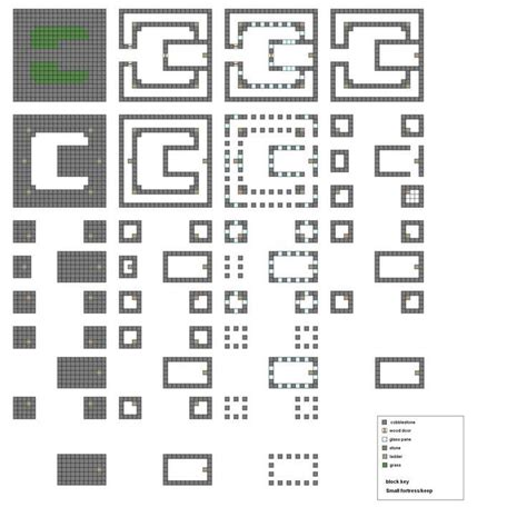 floor plans minecraft minecraft blueprints layer by layer minecraft castle