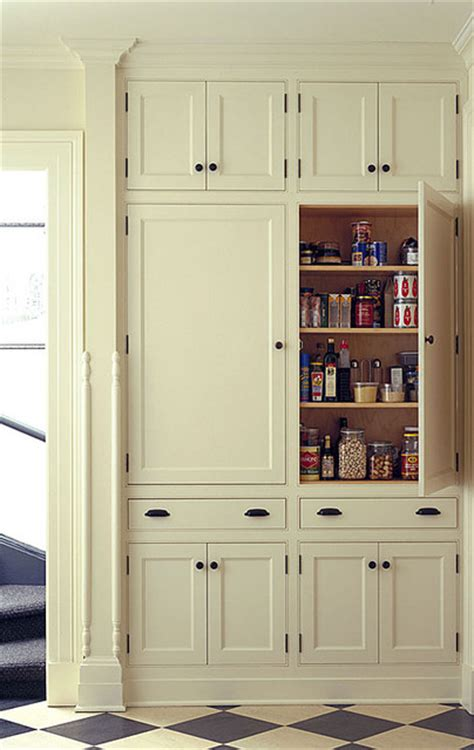 kitchen wall pantry cabinet pantry traditional kitchen burlington by kenzer