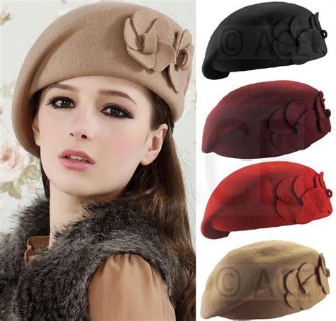 beret womens classic 100 wool beret hats