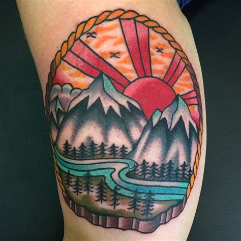 80 best mountain tattoo designs amp meanings for all ages