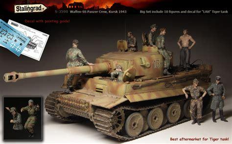 Resin Figures 135 Wss Panzer Crewman Kursk 1944 maquette