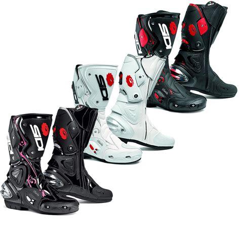 sidi vertigo motorcycle boots womens vented