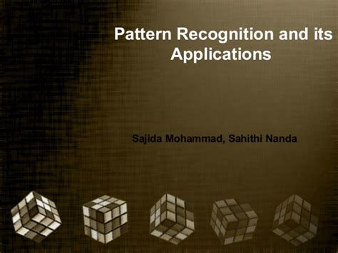 pattern recognition concepts methods and applications pattern recognition and its applications