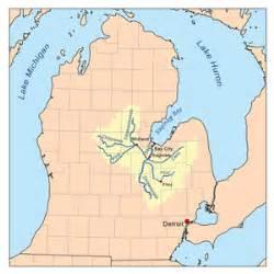 map of flint river michigan the wiki