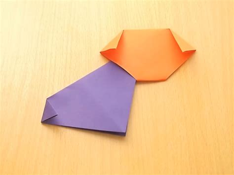 Origami Puppy - easy origami wikihow 28 images how to fold an origami