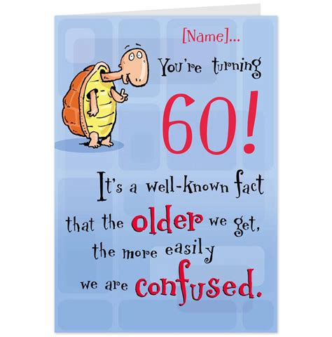 Birthday Quotes For 60 Year 60th Birthday Pictures Funny
