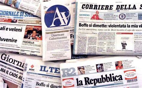 testate giornalistiche italiane mondo informazione