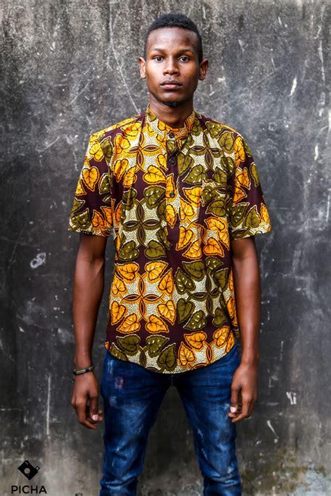 african kitenge shirts short sleeved kitenge shirt zima africa