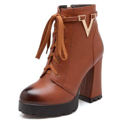 stylish womens motorcycle boots motorcycle boots fashion women ankle boots vintage thick