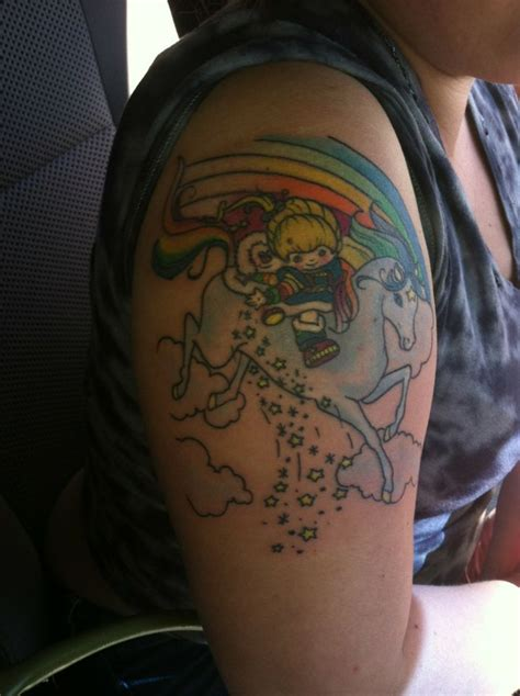 rainbow brite tattoo 17 best images about rainbow brite tattoos on