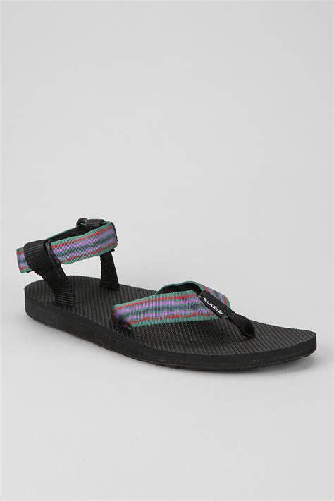 teva original sandals outfitters teva original sandal in black for