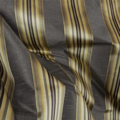 black and gold curtain fabric candia twilight black gold striped fabric sle