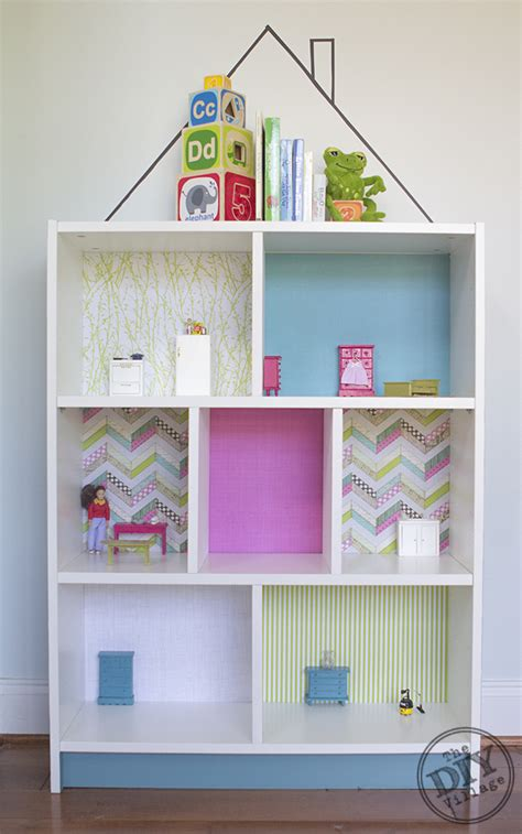 billy bookcase diy dollhouse ikea hack the diy