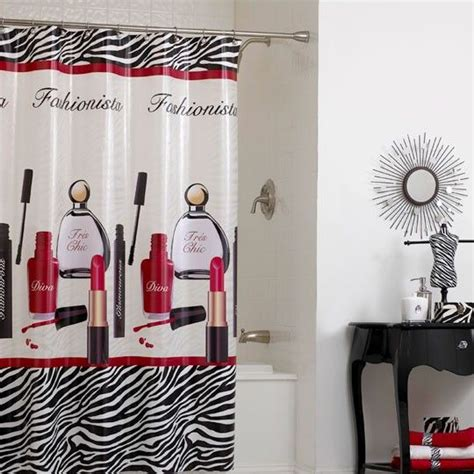 diva bathroom decor divas shower curtains and curtains on pinterest
