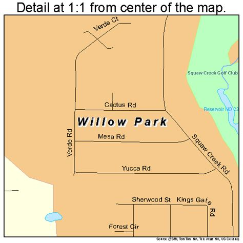 texas parks map willow park texas map 4879492