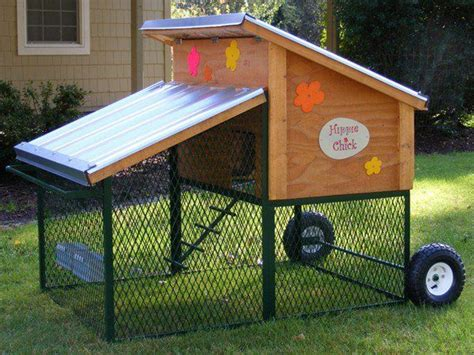 movable chicken coop woodworking projects