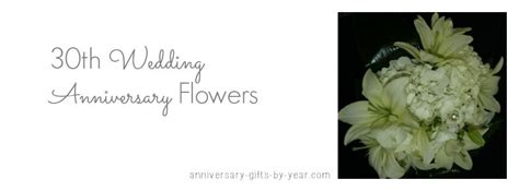 30th Wedding Anniversary Vacation Ideas by Beautiful 30th Wedding Anniversary Flowers