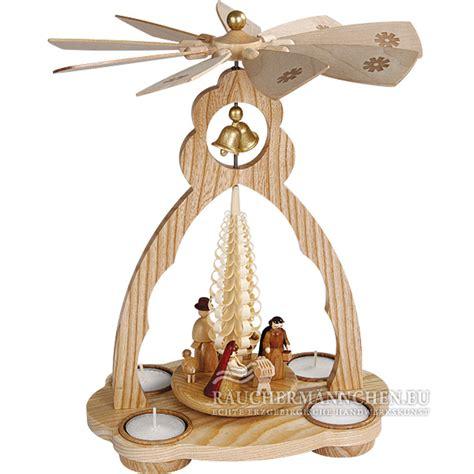 Holz Weihnachtsdeko 3124 by Christi Geburt Teelicht Glocke Weihnachtspyramide