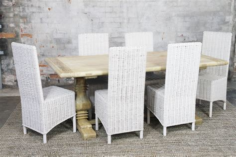 Vintage Verandah Ls by Como Dining Suite Ls Naturally Rattan And Wicker