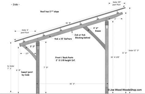 Comment Construire Un Carport Plan by Plan D Un Carport Adosse Maison Design Wiblia