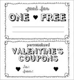 Template Coupons by 13 Coupon Templates Free Sle Exle