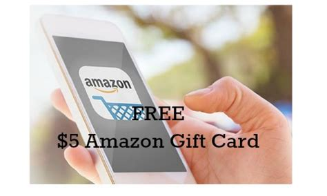 Free Gift Cards Amazon - amazon 5 gift card with app southern savers