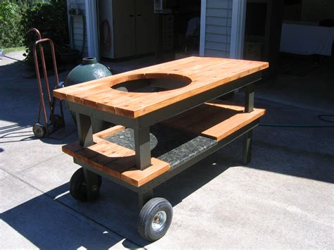 green egg grill table plans rc furniture boat plans diy