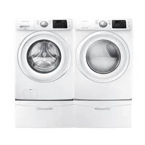Lowes Clothes Dryers On Sale Samsung Dv42h5000ew Ac Wf42h5000aw Washer Dryer Set